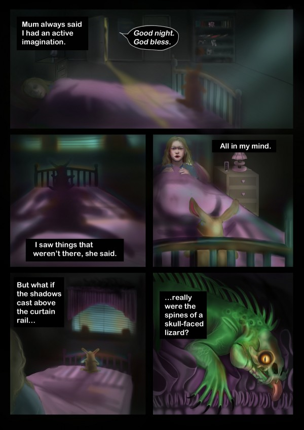 The Monster Under the Bed - Page 1