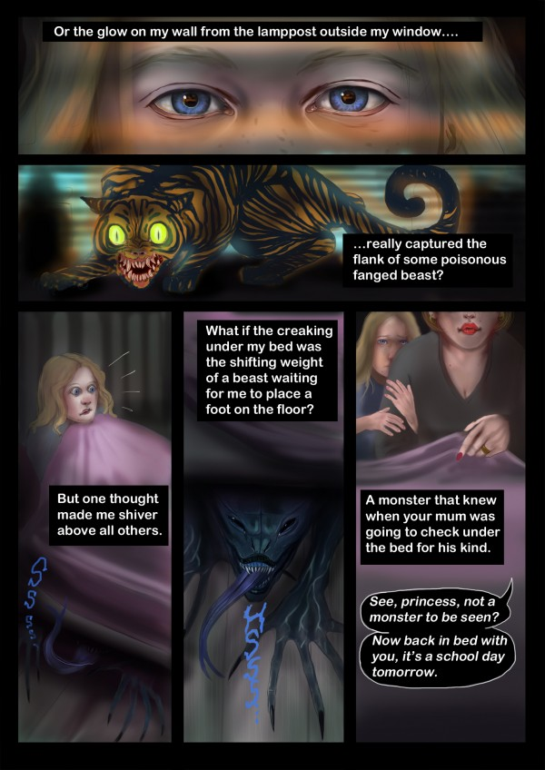 The Monster Under the Bed - Page 2