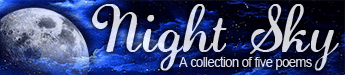 Night Sky poetry collection banner