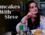 Pancakes With Steve - Film title banner