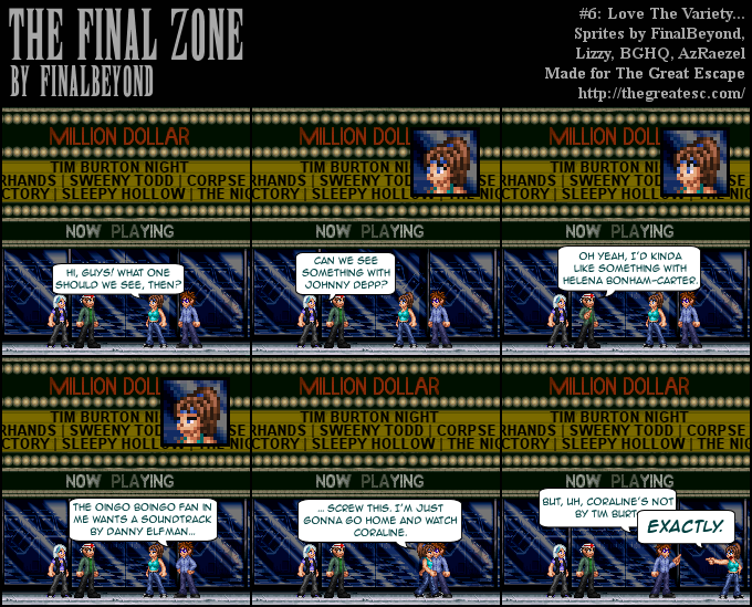The Final Zone - comic