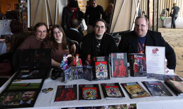 Hellbound Media & The Great Escape at Cardiff Comic Expo