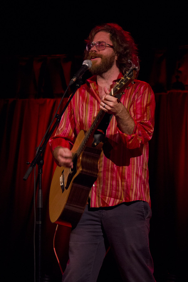 Jonathan Coulton plays at Bristol's Colston Hall September 2012
