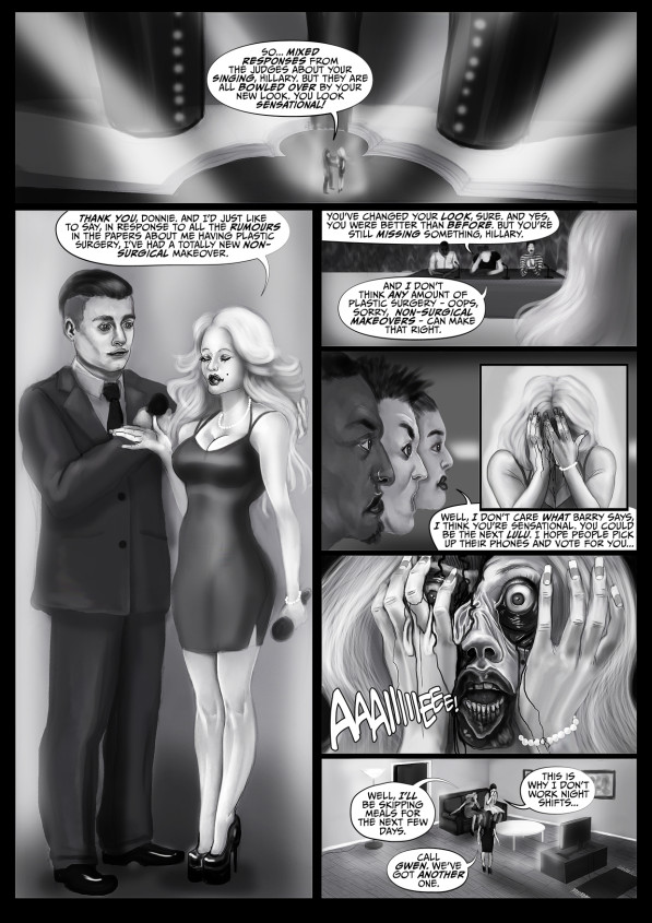 Faith Healers: The Flesh Angel - Part 1 (web comic)