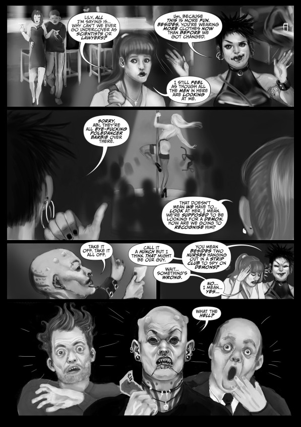 Faith Healers: The Flesh Angel (part 2) - page 1 of 2