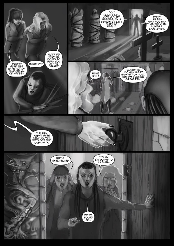 Faith Healers: The Flesh Angel (Page 15)