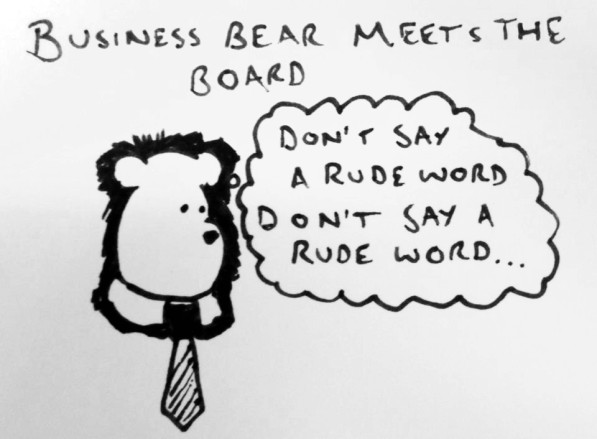 Business Bear Meets The Board