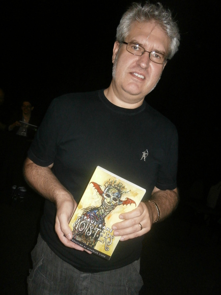 Paul Kane with his new anthology