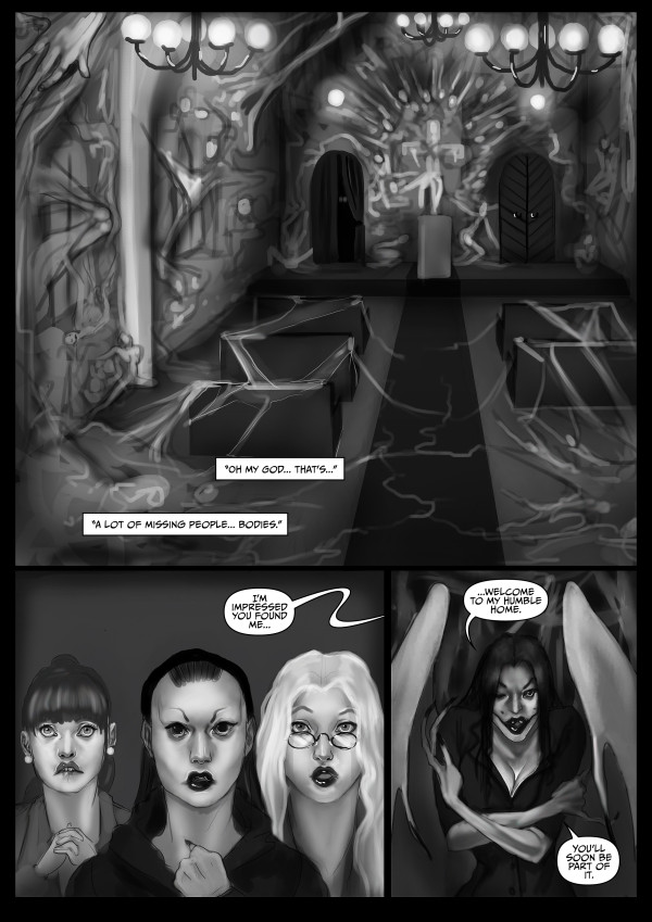 Faith Healers: The Flesh Angel (Page 17)