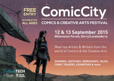 ComicCity Comics & Creative Arts Festival 2015
