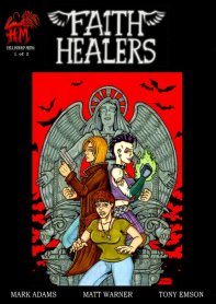 Faith Healers - Volume 1 - comic book cover art