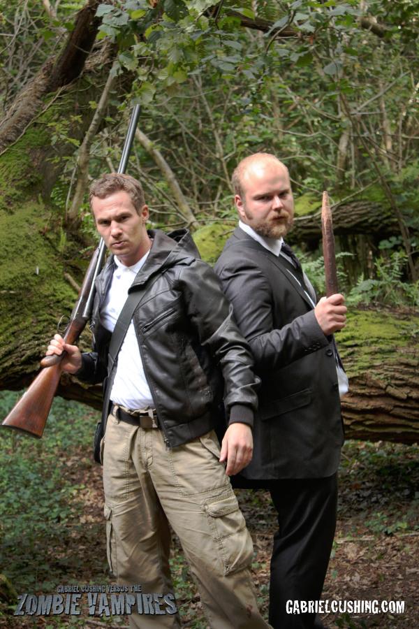 Ben Romanov (Conner McKenzy) and Gabriel Cushing (David Curtis) - Gabriel Cushing vs the Zombie Vampires