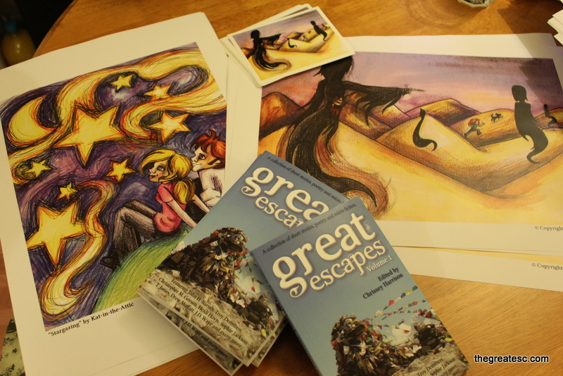 Great Escapes | Volume 1 - Books, prints and art cards.