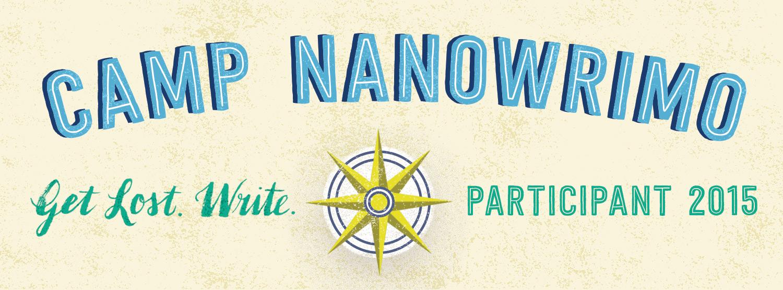 Camp NaNoWriMo 2015 - Participant badge