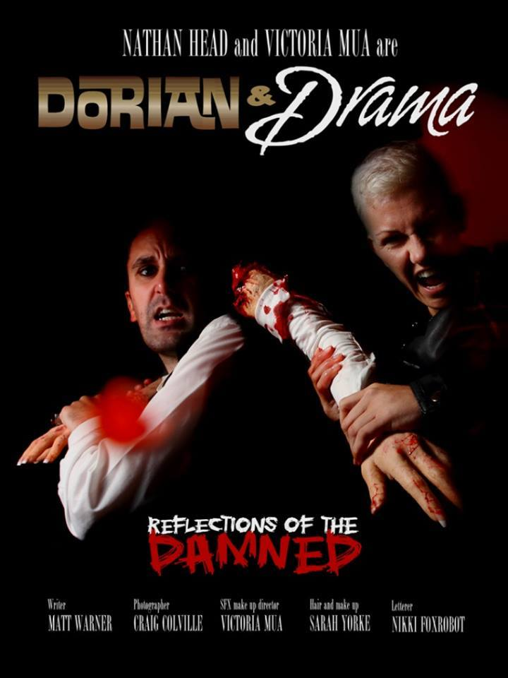 Dorian & Drama: Reflections of the Damned - cover