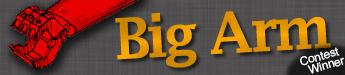 Big Arm by Tom Burd - title banner