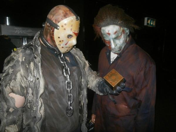 Friday 13th meets Halloween meets Hellraiser