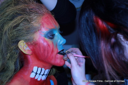 The Painted Lady - Make up behind the scenes