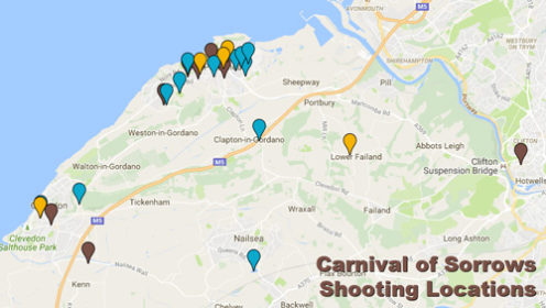 Carnival of Sorrows - Interactive Location Map